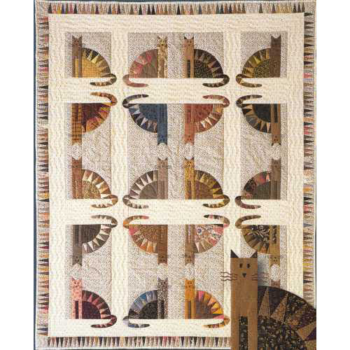 Sawtooth Cats Quilters Warehouses
