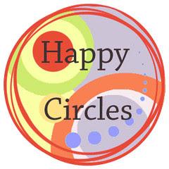 happy circles button