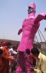 Burning Ravan On Eid E Zehra by firoze shakir photographerno1
