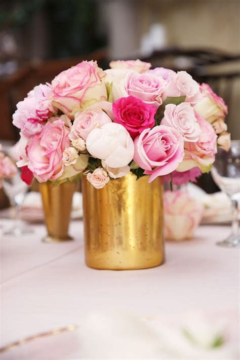 Pink and Gold is the perfect color combo for a baby shower