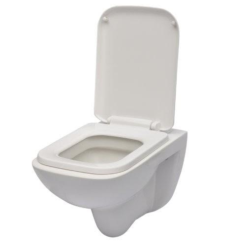 toilettendeckel h nge wand wc toiletten deckel set toilettendeckel klo mit softclose sitz. Black Bedroom Furniture Sets. Home Design Ideas