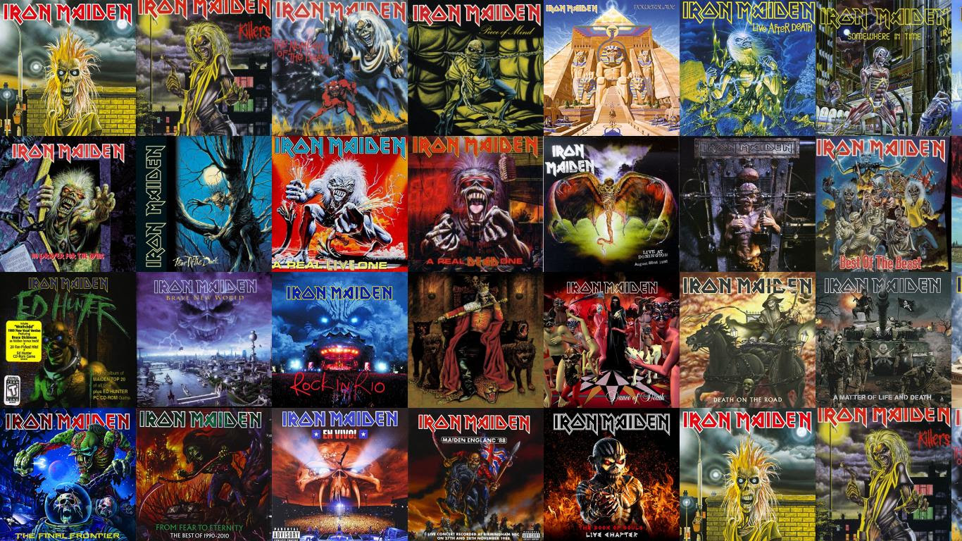 Iron Maiden Iron Maiden Killers Number Beast Piece Wallpaper
