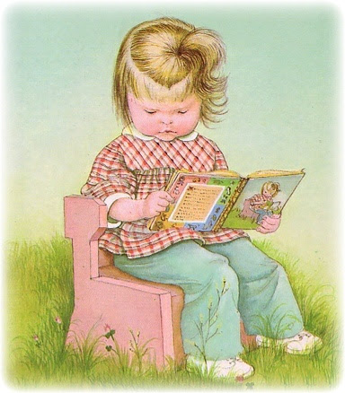 Vintage childrens' pics (this one is Eloise Wilkin)