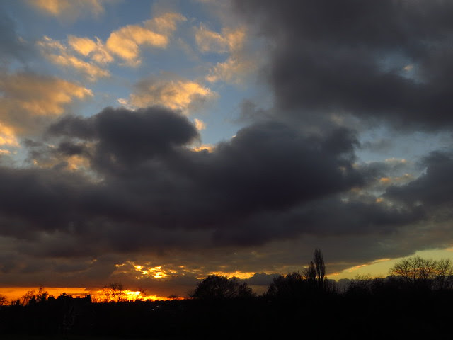 Sunset Clouds over Hampstead