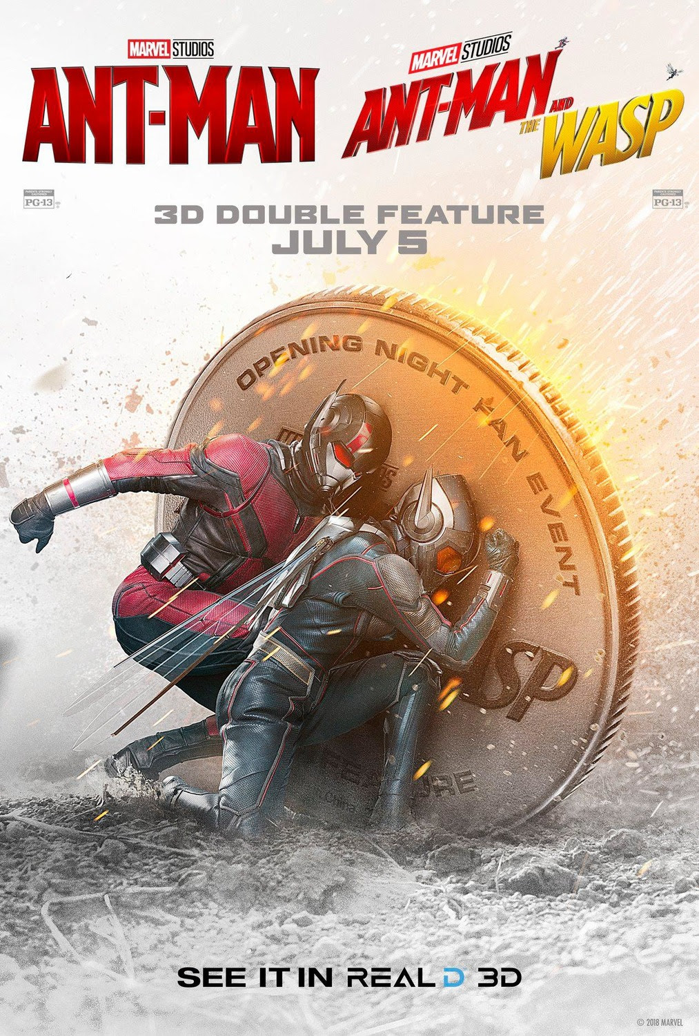 Extra Large Movie Poster Image for Ant-Man and the Wasp (#18 of 18)