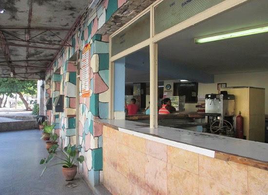 Cafetería de Calzada y K (foto del autor)