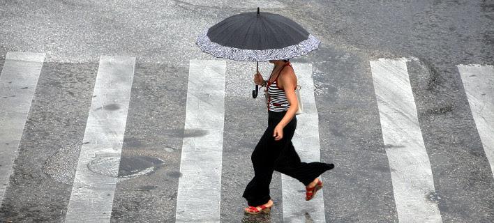 Ραγδαία επιδείνωση του καιρού -Βροχές, χαλάζι και πτώση θερμοκρασία