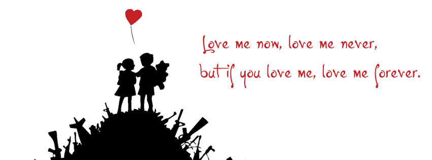 Love Me Or Hate Me Best Lovers Facebook Cover For Timeline