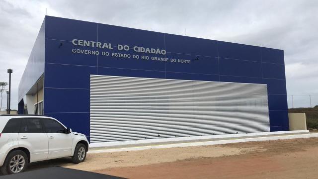 João Câmara: Nova Central do Cidadão com obra concluída, confira as imagens.
