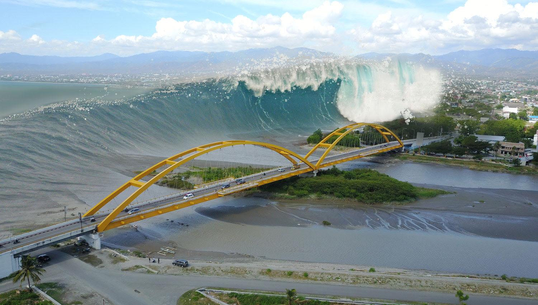 madamwar indonesia tsunami warning system