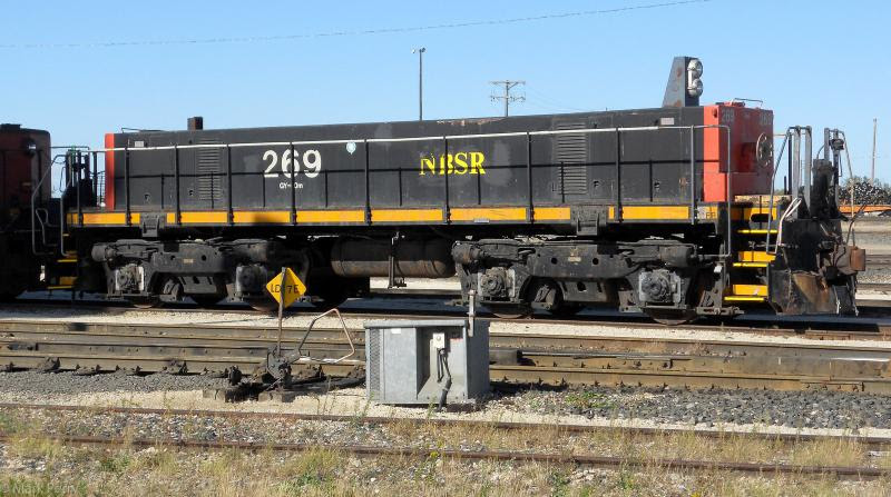 NBSR 269 in Winnipeg. Photo by Mark Perry