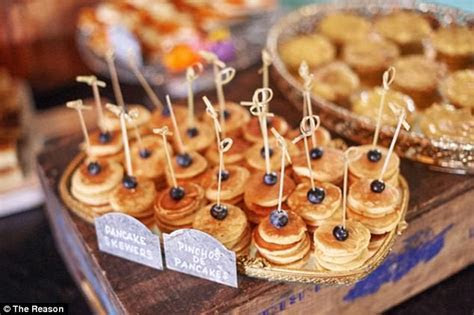 The viral wedding food trends set to be huge in 2017