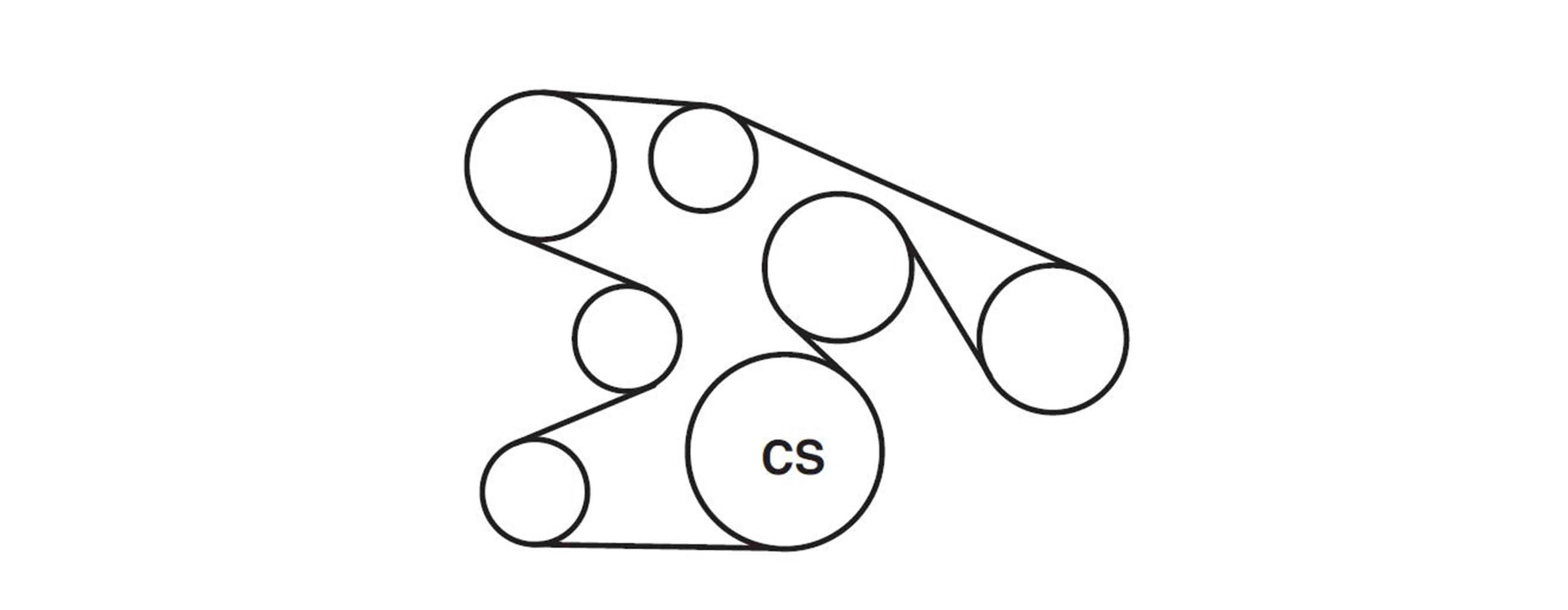 2008 Impala Serpentine Belt Diagram