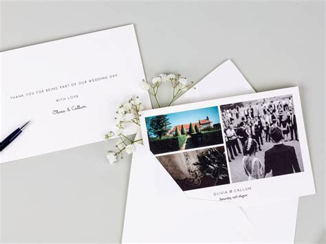 Wedding Thank You Card Etiquette Guide from Atelier Rosemood