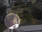 Vídeo mostra morador de rua morto a facadas (Reprodução/TV Vanguarda)