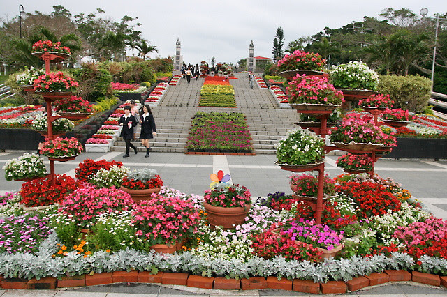 Stairway at Ocean Expo Park, Okinawa