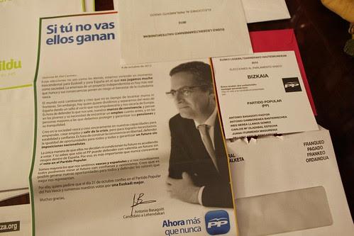 Propaganda electoral 21O