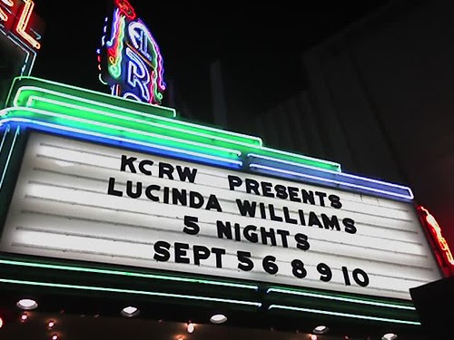 marquee el rey lucinda williams