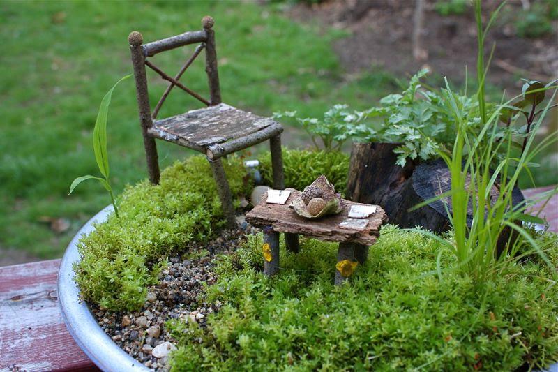 Fairies in the Garden, a Garden for the Fairies   FairyRoom