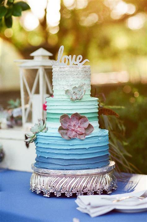 Wedding cake for #twofatedladies. Mint and royal blue
