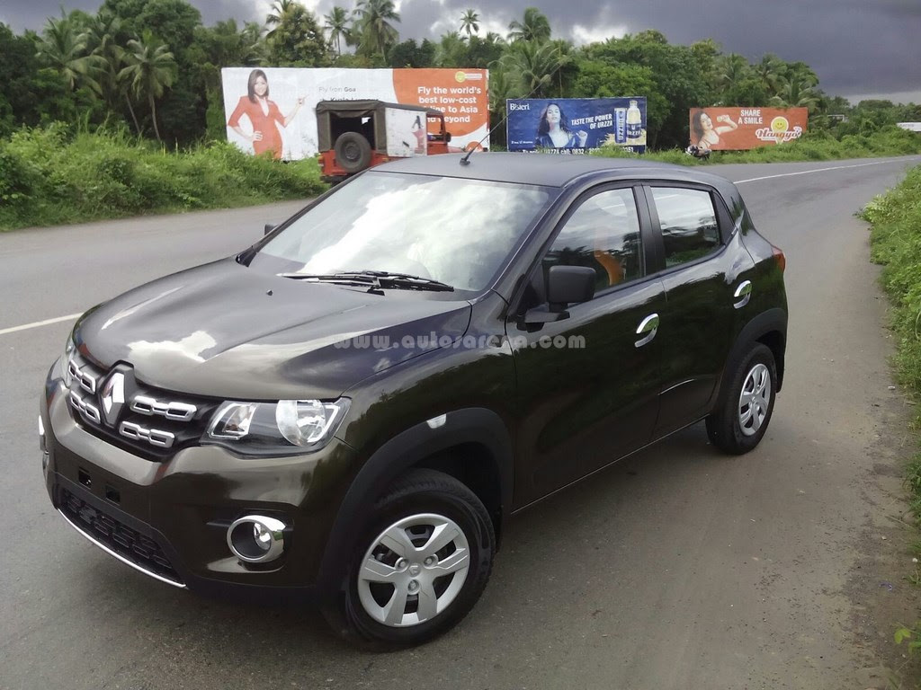 Best India Cars Renault Kwid Black