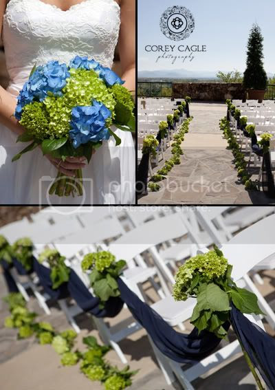 Blue and Green Wedding Details, Grove Park Inn wedding details with the view