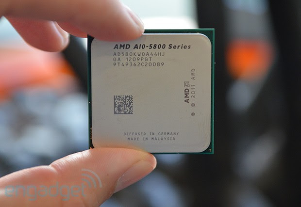AMD Trinity APU overclocked at 7.3 GHz, kept cool with liquid nitrogen