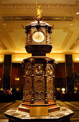 Waldorf Astoria Clock