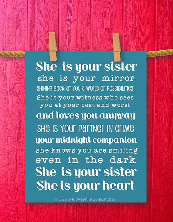 Loving Sister Quotes For You Sister ThemesCompany - Quotes ...