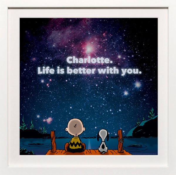 Enter the Peanuts Art You Grew Up With Personalized Print Giveaway. Ends 6/21