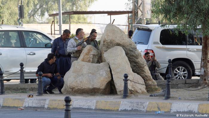 Kurdische Verteidiger von Kirkuk (Reuters/A. Rasheed)