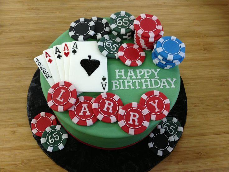 Poker Themed Cake Decorations Keno Home Draw