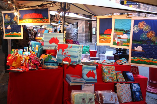 The Rocks market - Sydney