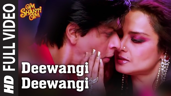 Deewangi Deewangi Song Lyrics in English | Om Shanti Om | Sharhukh Khan