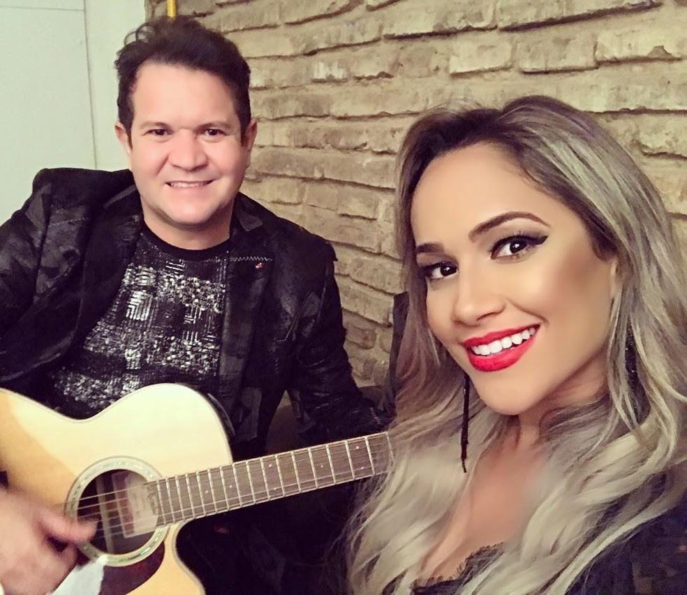 Ximbinha e Michele Andrade  (Foto: Reprodução/Instagram)
