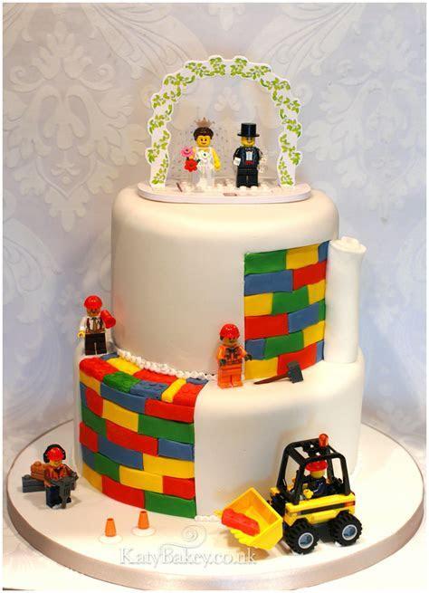 Lego Wedding Cake   KatyBakey