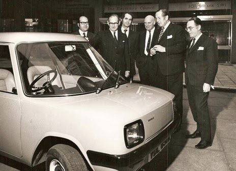 The Enfield 8000 is shown to the Electricity Board