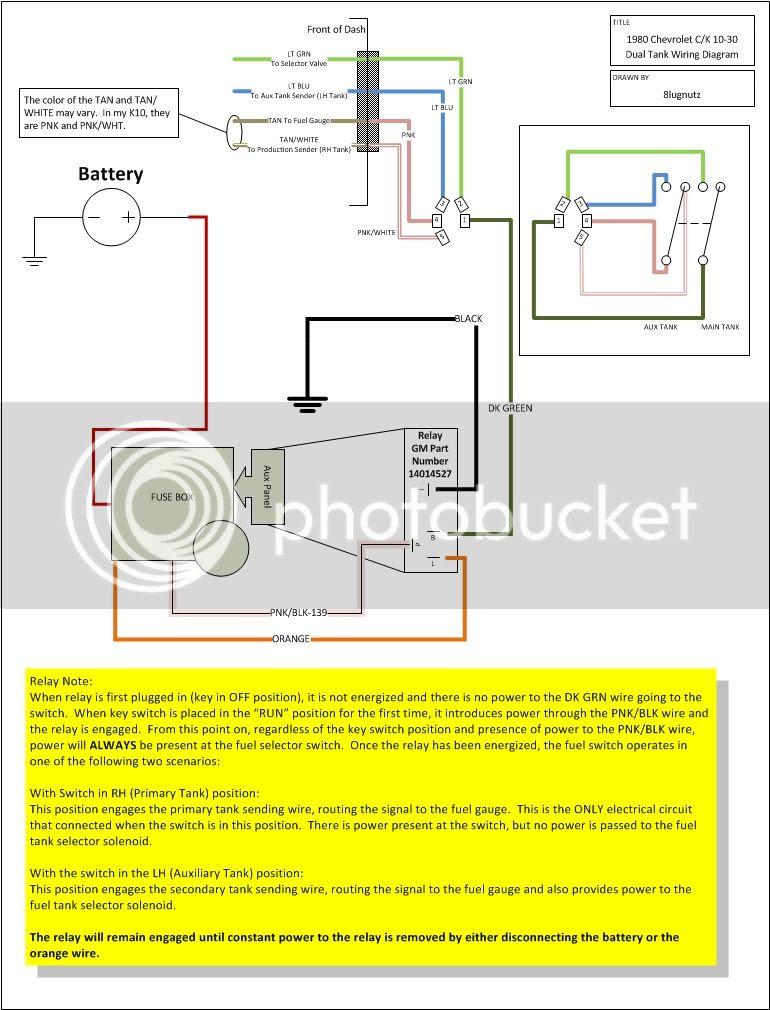 Chevy Dual Tank Fuel Wiring Diagram