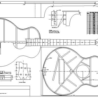 lote wood acoustic bass guitar plans pdf guide. Black Bedroom Furniture Sets. Home Design Ideas
