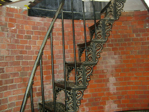 Cape Cod Light interior stairs