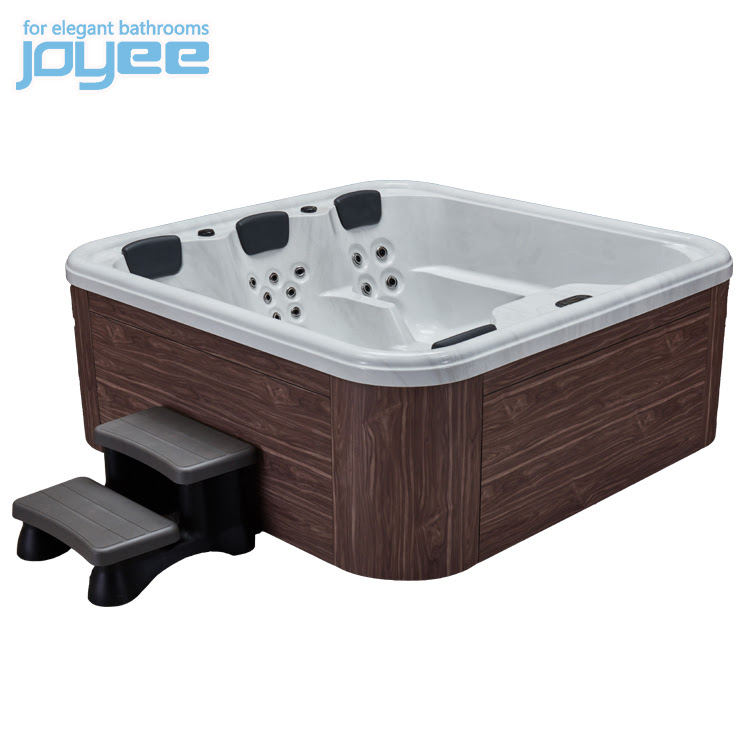 Joyee 2 3 Person Hot Tub Baignoire Spa Bathtubs Jacuzzi Big Bathtubs Corner With Tv And Hot Tub Led Light Balboa System Buy Outdoor Spa For 4 People Spa Hot Tub Sex Hot