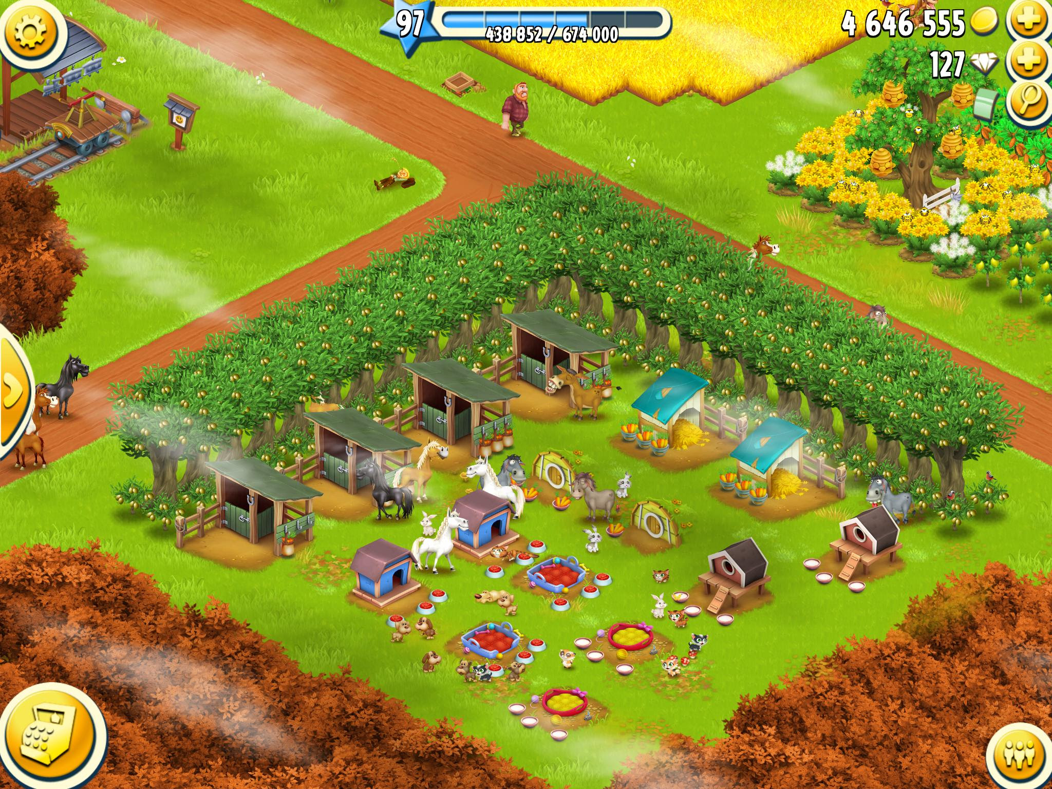 Can Someone Give Me A Nice Design For The Little Corner In Hayday