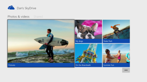 SkyDrive no Xbox One