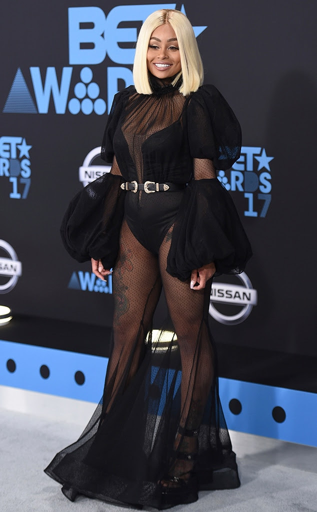 Blac Chyna, 2017 BET Awards, Arrivals