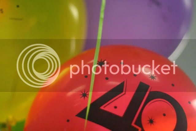 balloons Michael's birthday