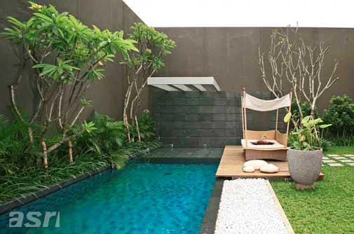 Desain Rumah  Ada Kolam  Renang  Progess Kecil Menentukan