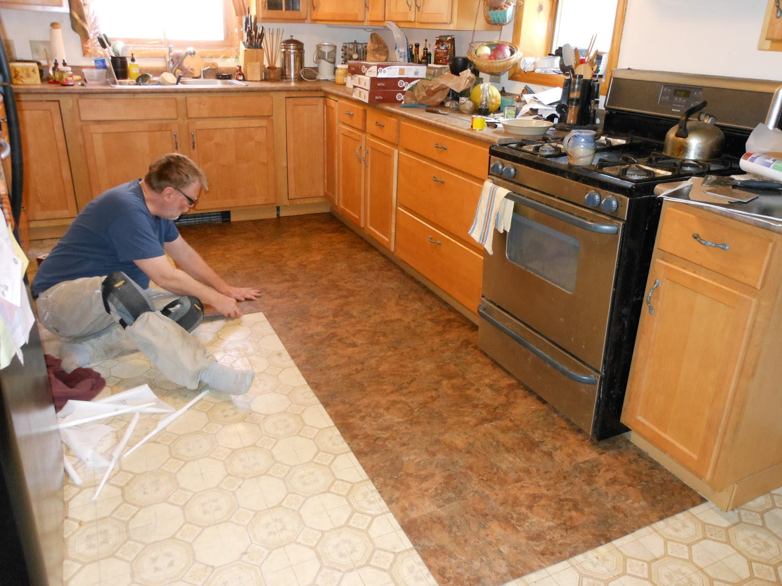 Buy Kitchen Vinyl Flooring in Dubai ParquetFlooring