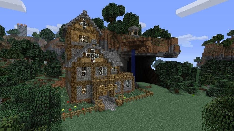 Xbox 360 Mansion On Map Minecraft