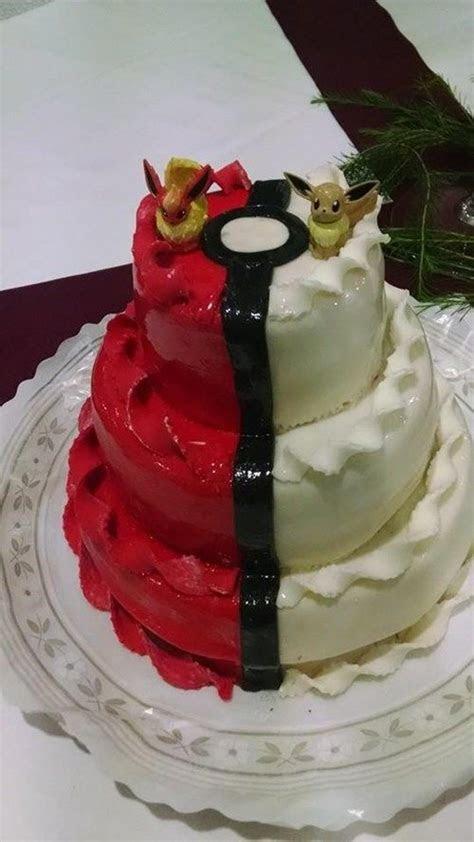 Anime Wedding Cakes : Pokemon cake