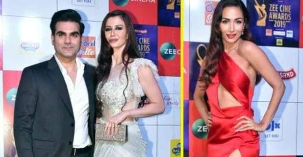 Zee Cine Awards 2019: Malaika Arora did THIS when Arbaaz Khan walks in With Girlfriend Georgia